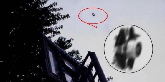 El terrorífico OVNI que intenta abducir al niño de 9 años volviéndose invisible