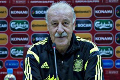 Vicente del Bosque confía en que en Logroño no se repitan los pitos a Piqué