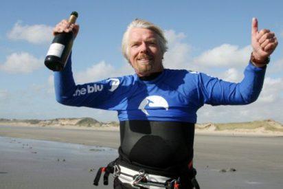 Branson reta a Bezos: hará su primer viaje espacial solo días antes de que despegue el New Shepard