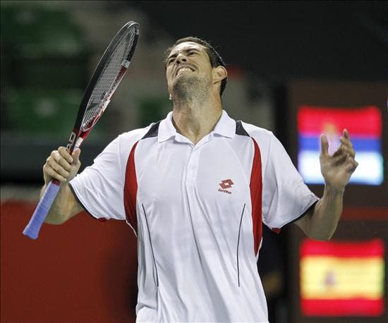 García-López sucumbe ante Berdych en la final de Shenzhen