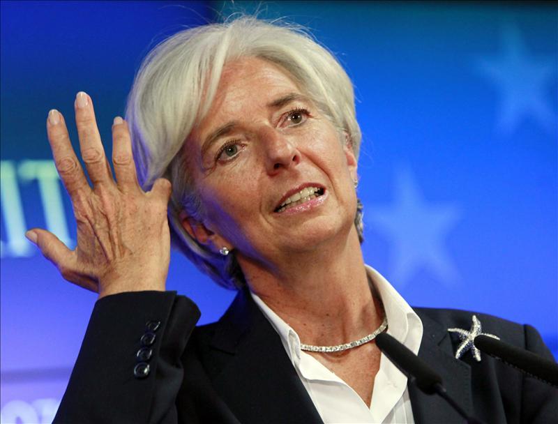 """Christine Lagarde: """"La recuperación económica mundial continúa y en 2016 será más fuerte que este año"""""""
