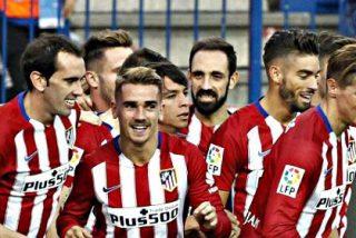 La acción de algunos jugadores del Atlético que encendió a sus compañeros