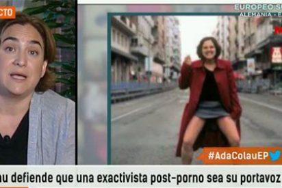 El peculiar criterio estético de Ada Colau: orinar en la calle es un arte, colgar una foto homenajeando a Dalí, no