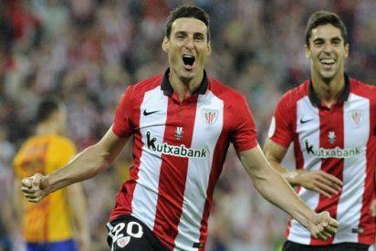 La baja cantidad que el Athletic pagó al Valencia para fichar a Aduriz