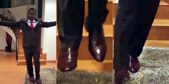 [Vídeo] El millonario profeta que camina en el aire tiene un morro que se lo pisa