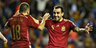 """Vicente del Bosque: """"Hemos hecho una clasificación buena para la Eurocopa 2016, pero con sufrimiento"""""""