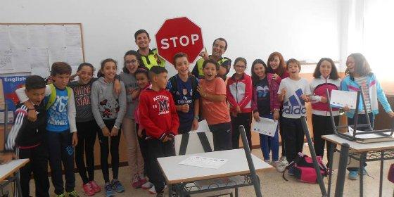 Alumnos del CEIP Meléndez Valdés de Ribera del Fresno recibirán charlas de Educación Vial