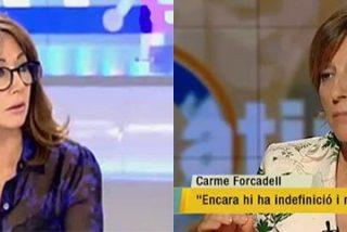 """Ana Rosa y su enveneneda 'bendición' a Carme Forcadell: """"Como todos saben es una mujer tolerante, independiente y nada sectaria"""""""