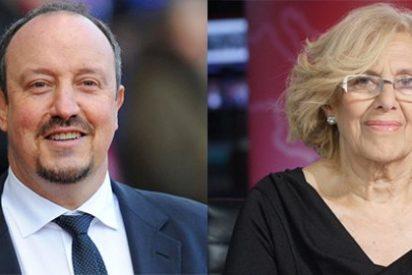 """Rafa Benítez le devuelve el desinterés a la alcaldesa de Madrid: """"No sé quién es Manuela Carmena"""""""