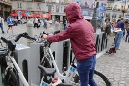 BiciMAD, el servicio de bicicletas públicas de Madrid, está en la ruina victima del robo y el vandalismo