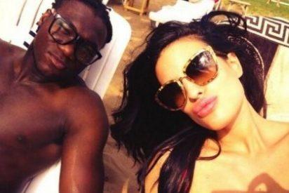 Caicedo presume de su novia española a través de Twitter