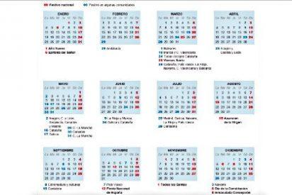 Los 'macropuentes' seguirán en el calendario laboral y escolar durante 2016
