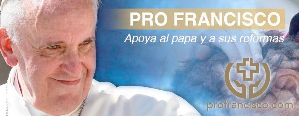 """Surge """"Pro Francisco"""": campaña para apoyar al Papa a través de la red"""