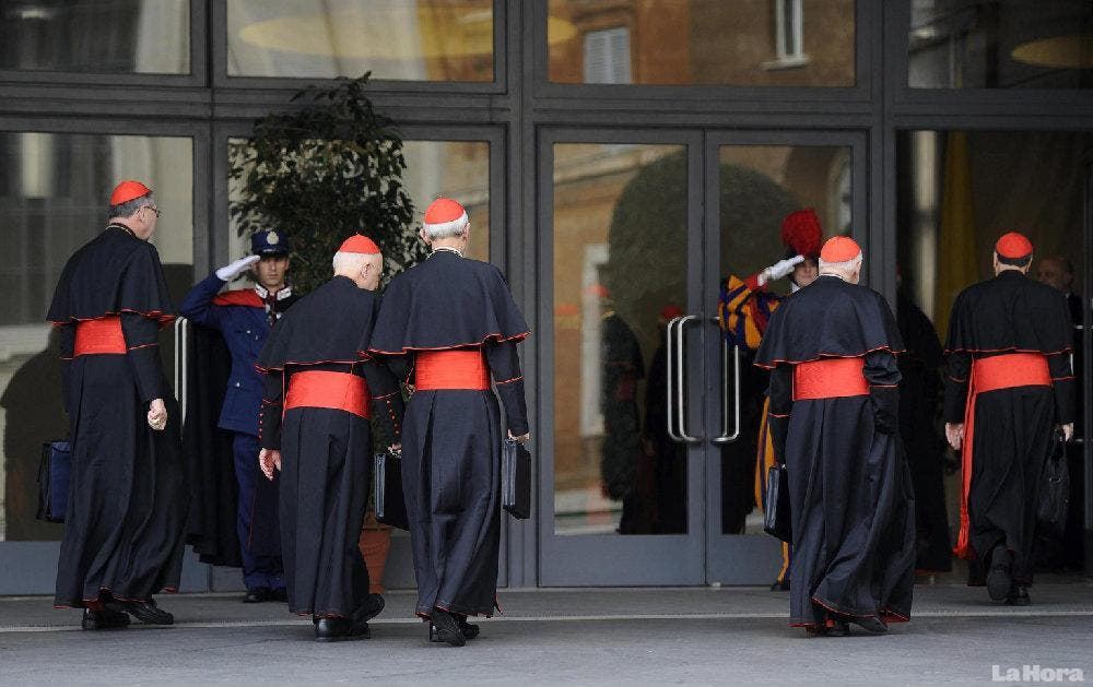 """Ya sólo son siete los firmantes de la """"carta de los 13"""" cardenales contra el Papa"""