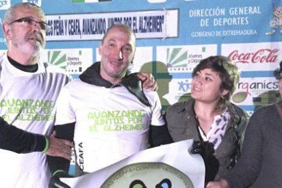 Carlos Peña supera con éxito los 80 kilómetros del Gran Embalse de Alcántara