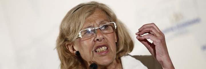 Carmena le mete un tiro por la espalda a las subvenciones de las víctimas del terrorismo