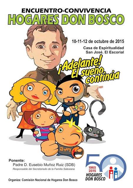 Encuentro de 'Hogares Don Bosco' en el Escorial