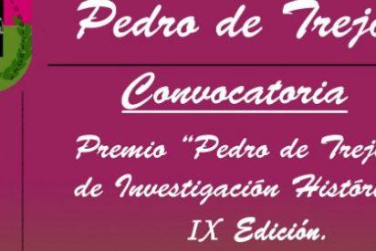 """Bases de la IX Edición del Premio de Investigación Histórica """"Pedro de Trejo"""""""