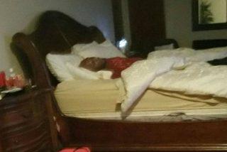 Las fotos de Lamar Odom en el burdel tras acostarse con un transexual y dos putas