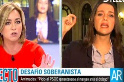 """Inés Arrimadas 'azota' a Carme Chacón por """"la equidistancia y complejo del PSC"""""""