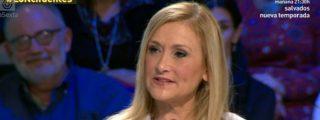 """Cristina Cifuentes, enamorada del riesgo: """"Manuela Carmena me ha invitado a comer, cocinando ella"""""""