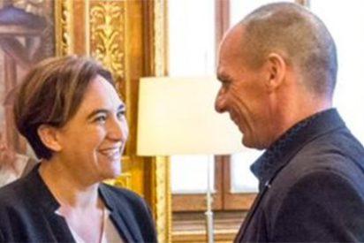 ¡Te la han Colau, Ada! Paga 1.700 euros al charlatán de Varoufakis cuando a otras ciudades ha ido gratis