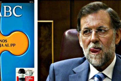 'ABC', que tiene un cabreo de espanto por no haber recibido una tele, sacude a Rajoy donde más le duele