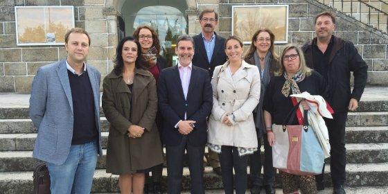 Cáceres estudia con sus socios de Triurbir proyectos de carácter europeo