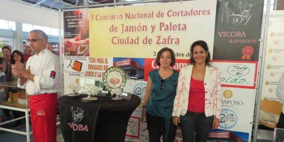 Gran ambiente en el I Concurso Nacional de Cortadores de Jamón de Zafra