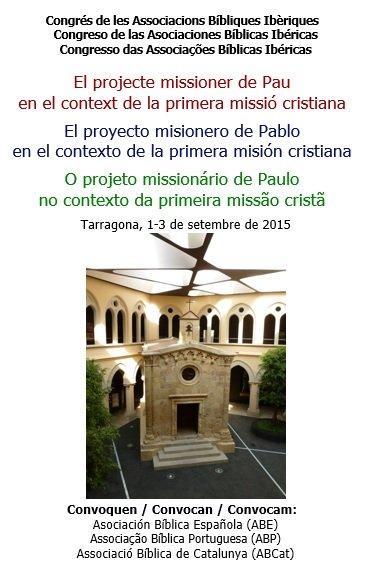 """""""El proyecto misionero de Pablo en el contexto de la primera misión"""""""