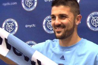 Filtran la próxima camiseta que lucirá Villa