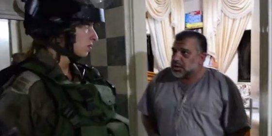 Con esta cara de santo es detenido el jefe del grupo terrorista Hamas