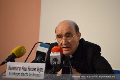 """Fidel Herráez: """"Voy a Burgos a amar y servir a todos"""""""