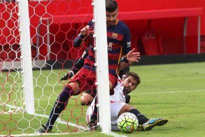 Barrio Sésamo en el estadio Sánchez Pizjuán: El Barça y la diferencia entre 'dentro' y 'fuera'