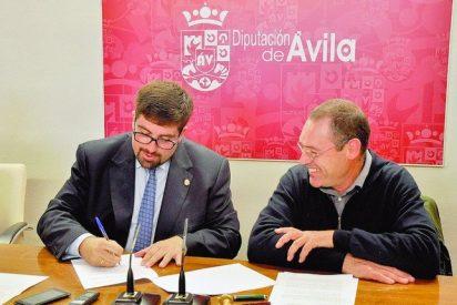 La Diputación de Ávila y el Ayuntamiento de Muñogalindo firman un convenio para el fomento de actividades ornitológicas