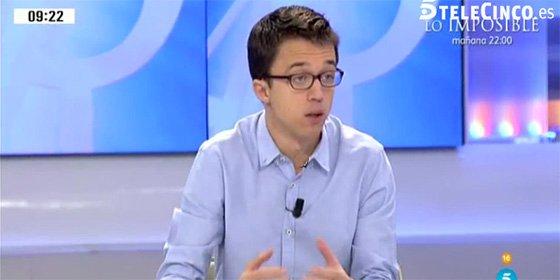 El podemita Errejón cabrea al PSOE por una foto insultante en Twitter