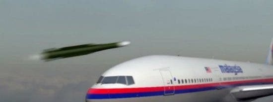 [Vídeo] Así impactó el misil ruso Buk contra el avión MH17 de Malaysia