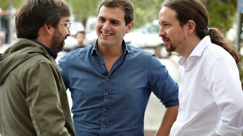"""""""Y a vosotros os apoya Maduro"""". Asi respondió Rivera a """"Coleta morada"""" cuando le echó en cara el Apoyo de nuestro Director Alfonso Rojo"""