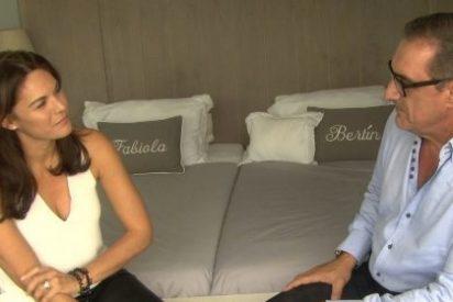 La mujer de Bertín se la devuelve a Mariló: Fabiola y Carlos Herrera, juntos en la habitación