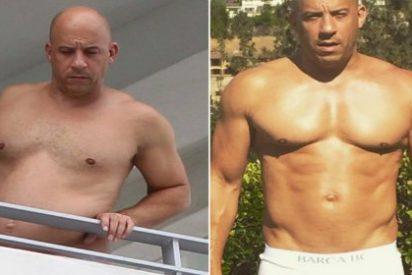 ¿Qué diantres le ha pasado a Vin Diesel de 'Fast & Furious'? ¡Las fotos en las que está hecho una foca!