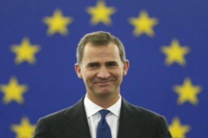 """Felipe VI: """"La UE puede contar con una España unida y orgullosa de su diversidad"""""""