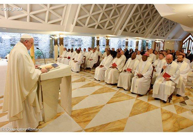 """Francisco, en Santa Marta: """"Los malvados no tienen nombre, sólo adjetivos"""""""