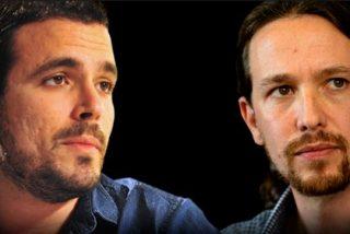Alberto Garzón y Pablo Iglesias: guerra de egos o quién la tiene más larga