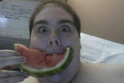 Al obeso de 362 kilos lo han echado del hospital por pedir una pizza
