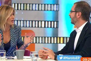 Javier Maroto se 'mete en un jardín' a cuenta del inglés de Rajoy y Griso se troncha de risa