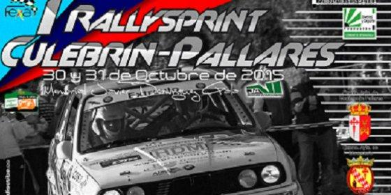 El sábado se disputa el I RallySprint Culebrín-Pallares