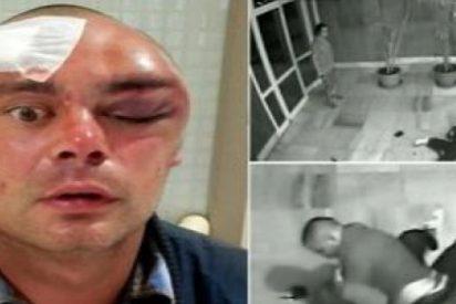 El vídeo del caníbal gruñón devorando la cara a un aterrado DJ británico en Ibiza