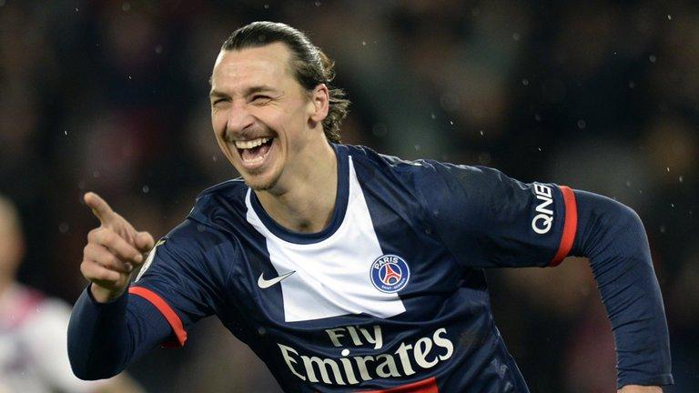 Ibrahimovic sella la victoria del PSG antes de recibir al Real Madrid