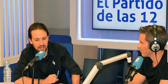 """Pablo Iglesias: """"Si salgo presidente, trataría de evitar ir al palco del Bernabéu"""""""