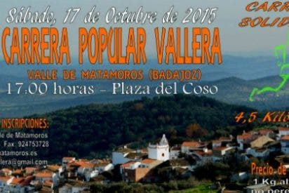 III Carrera Solidaria y Popular Vallera